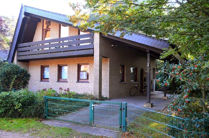 Ferienhaus an der Ems-Fähre Rheine - Rheine - Maison