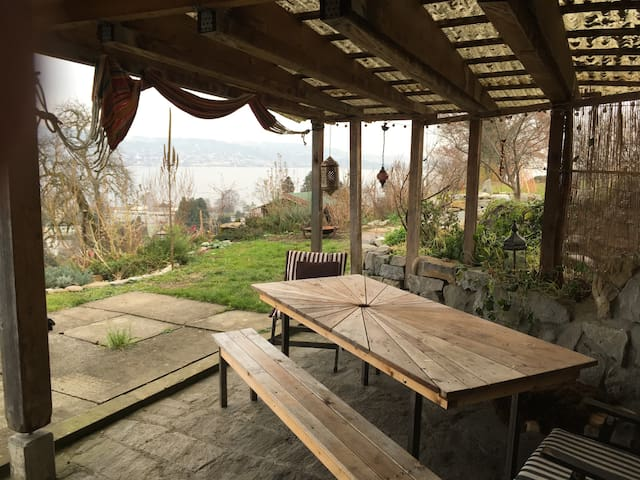 Apartment with great lakeview near Zurich - Au ZH - Lägenhet