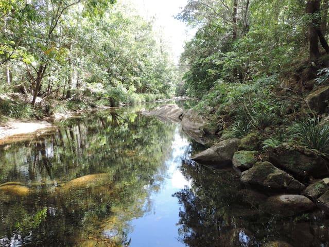 On the Creek.  Promised Land - Gleniffer - Ev
