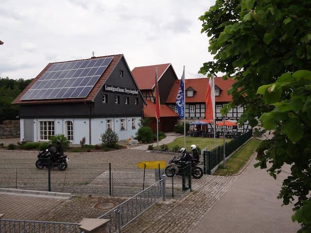 Hotel Landgasthaus zum Seysingshof - Bad Colberg-Heldburg - 타운하우스