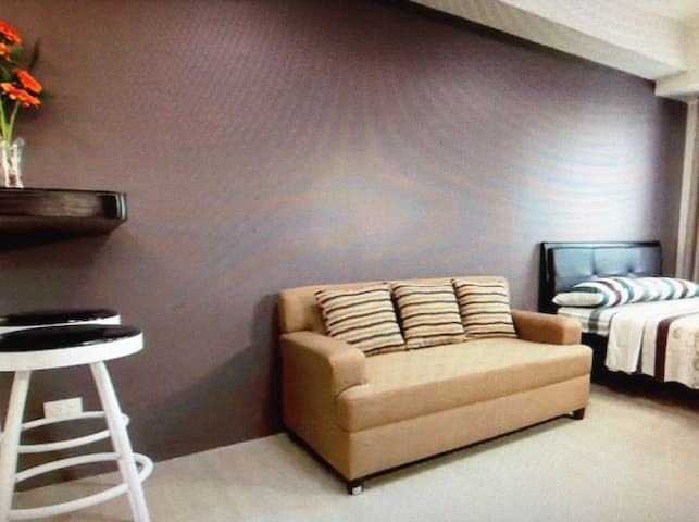 Fully furnished.studio type condo - San Mateo - Apartamento