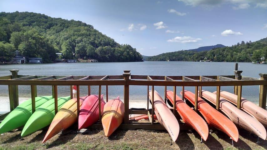 FULL ACCESS to Rumbling Bald Resort at Lake Lure! - 路爾湖(Lake Lure) - 別墅