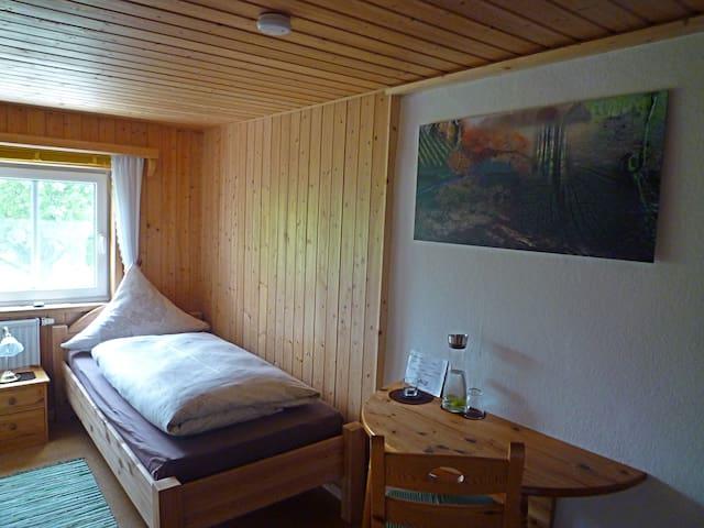 Zwei Einzelzimmer im Allgäu - Oy-Mittelberg - Hus