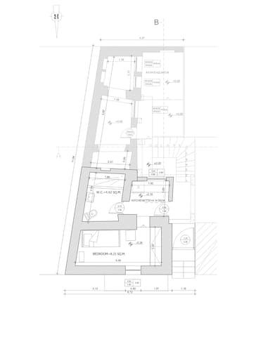 Ground Floor Studio for One - Χίος - Leilighet