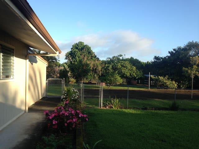 Great Location: Volcano to Hilo - Kurtistown - Huis