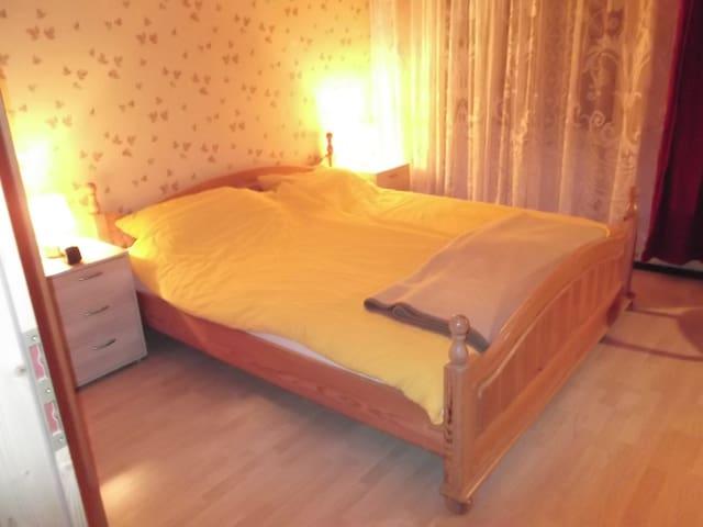 Voll ausgestattete Wohnung für 3 Pers. - Selb - Ortak mülk