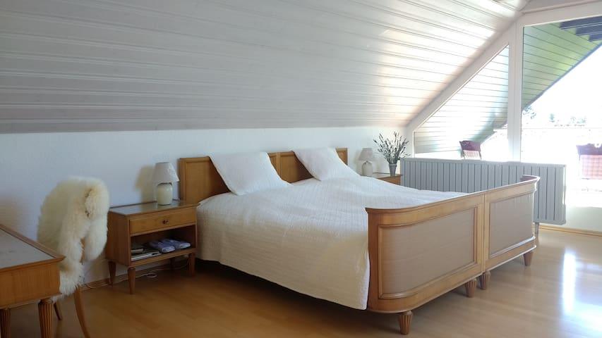 Wunderschöne Wohnung im Grünen, mit Pool - Lorch - Hus
