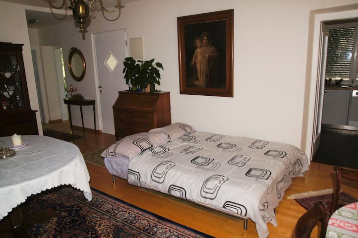 In a villa, comfortable sofa bed - Gargazzone - Apartemen