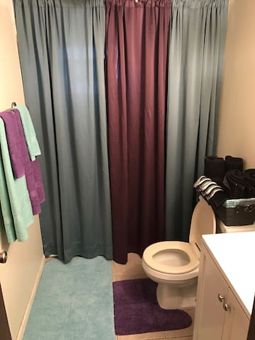 Cozy private room 25 min drive DT - Chicago  - Hus