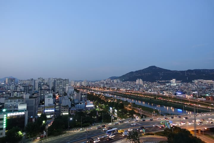Brand New building with perfect view - Seongdong-gu - Leilighet