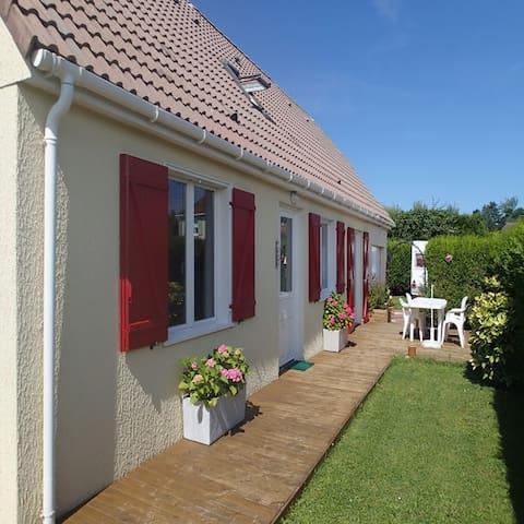 maison proche mer et campagne - Merville-Franceville-Plage - Casa