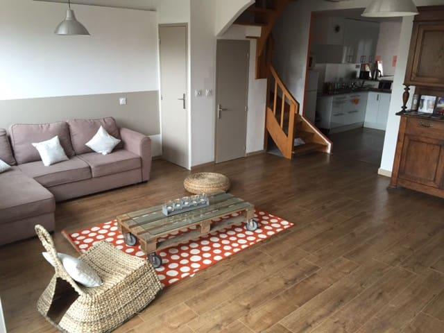 Appartement Duplex 65m2 proche Cité - Carcassonne - Lägenhet