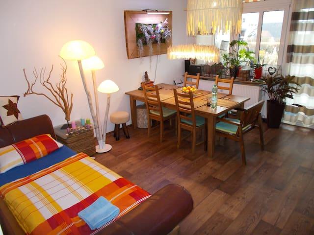Room with garden in Gallus - Francfort - Bed & Breakfast