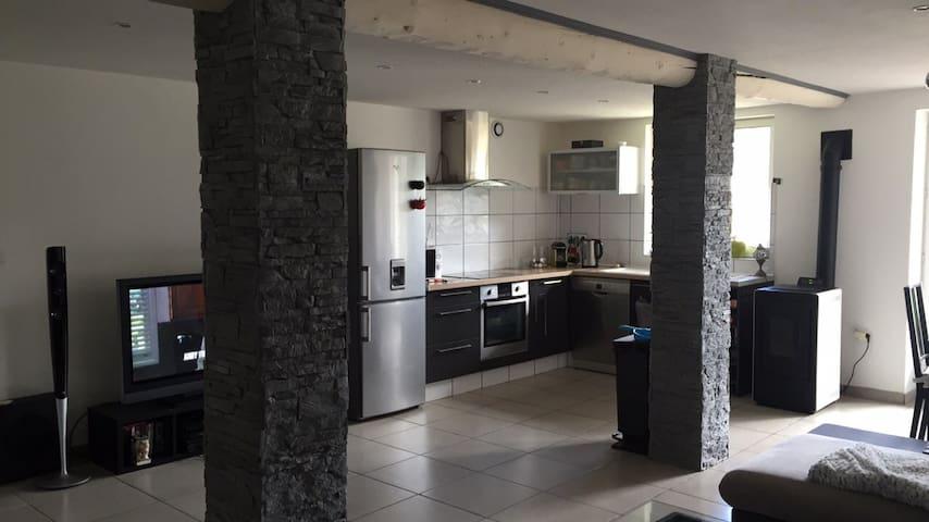 Appartement moderne de 70m2 avec jardin extérieur - L'Étrat - 公寓