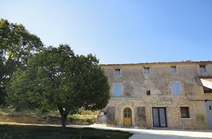 Bel Appt neuf et cosy entre vignes et oliviers - Nyons - Apartemen