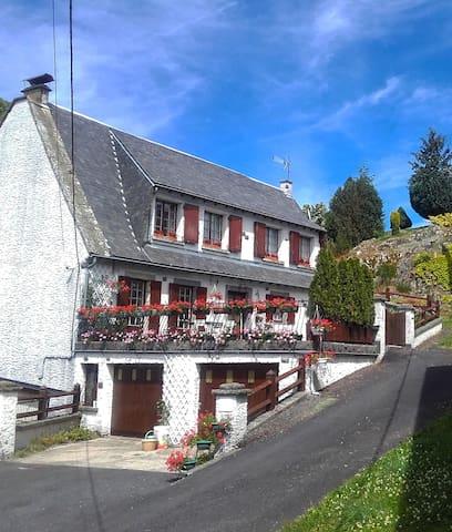 La Cascade - Saint-Gènes-Champespe - Departamento