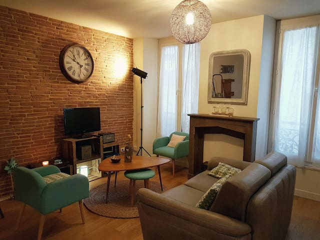 Lovely Flat in Downtown with safe car park. - Le Mans - 公寓