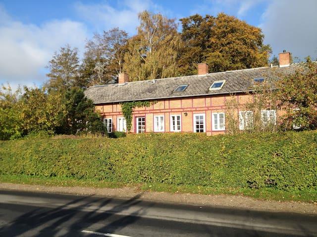 """Rosenly"" the house covered with roses - Svendborg - Villa"