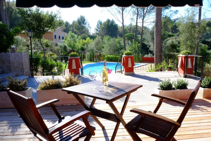 1 bedroom apt in countryside 1 - Ses Rotgetes de Canet - Wohnung