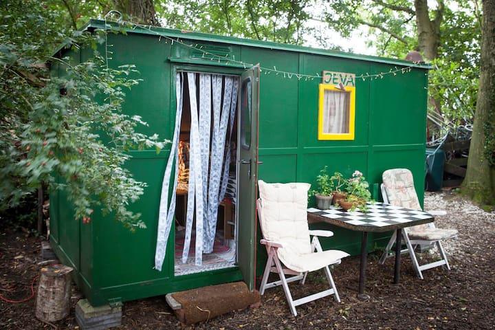 Big bed, breakfast, outdoor kitchen & nice sunset - Groningen - Lägenhet