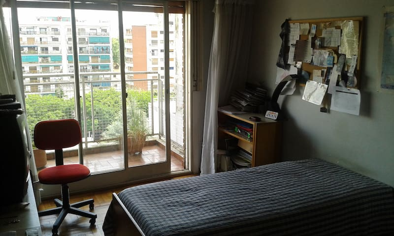 Excelente Habitación individual. Amplia y luminosa - Buenos Aires - Apto. en complejo residencial