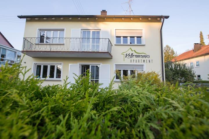 Schönes modernes Apartment für 2 Personen - Memmingen - Hospedaria