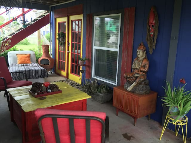 The Salty Dog - Surfside Beach - Freeport - Huis