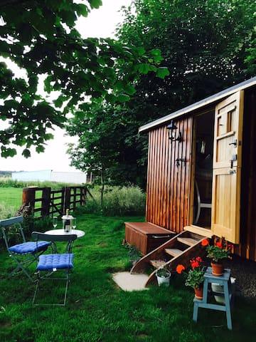 Idyllic Northumberland Shepherds Hut and Owl Trust - Longhorsley - Apartamento