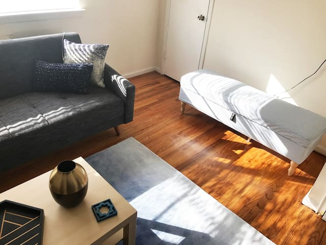 Relaxing Garden Apartment (15-20 min to NYC!) - Hackensack - Appartement