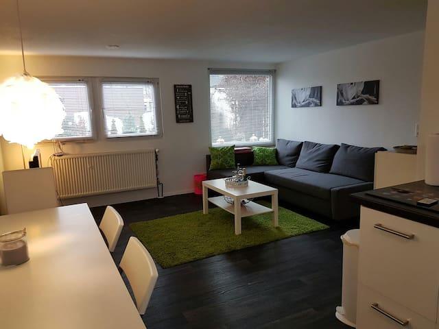 Mod. 2 room Apart/Kitch close  Ffm/Breakfast incl. - Dreieich - Appartement