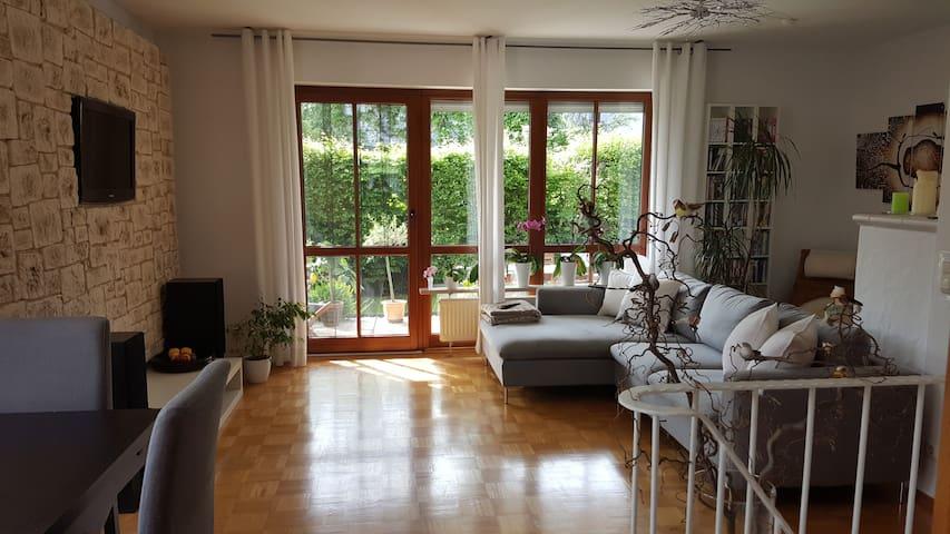 Gemütliches Schlafzimmer in Gröbenzell bei München - Gröbenzell - Apartament