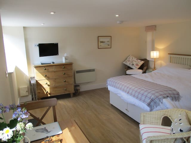 En Suite Studio in Barn setting, in Saxon village - Long Wittenham - Daire