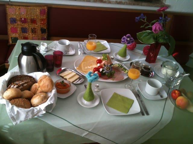 Ruhige Ferienwohnung im alten Winzerhaus - Dernau - Departamento