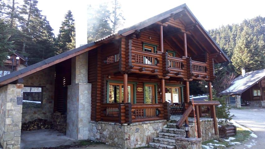 Beautiful wooden house in the forest Parnassos - Arachova - Шале