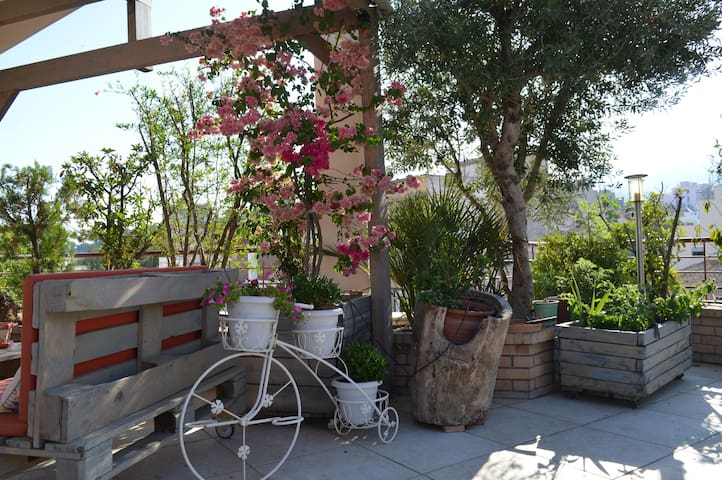 Roof Garden Apartment for Rent - Patra - Loft