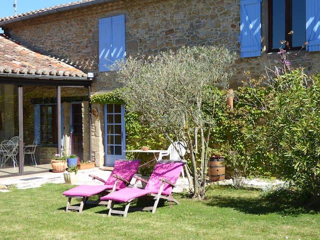 Cabardès ,cottage between Toulouse and Carcassonne - Montmaur - Villa