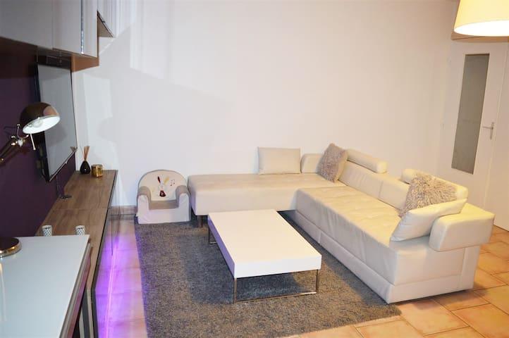 Grand appartement F3 avec terasse - Achères - Appartement