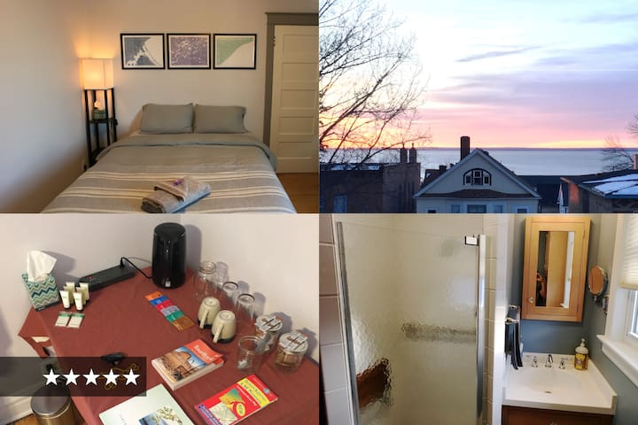 BEST BED in Duluth — cozy, quiet, walk to downtown - Duluth