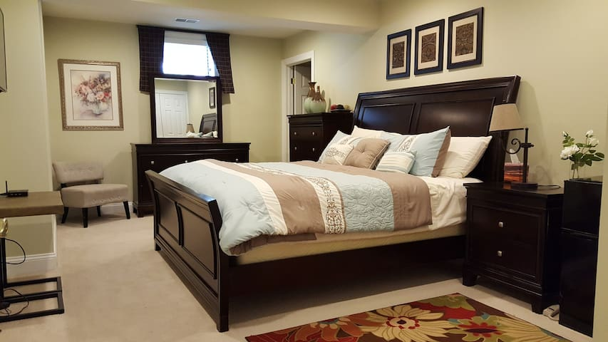 Comfy stay in Wine Country near Potomac River - Leesburg - Hus