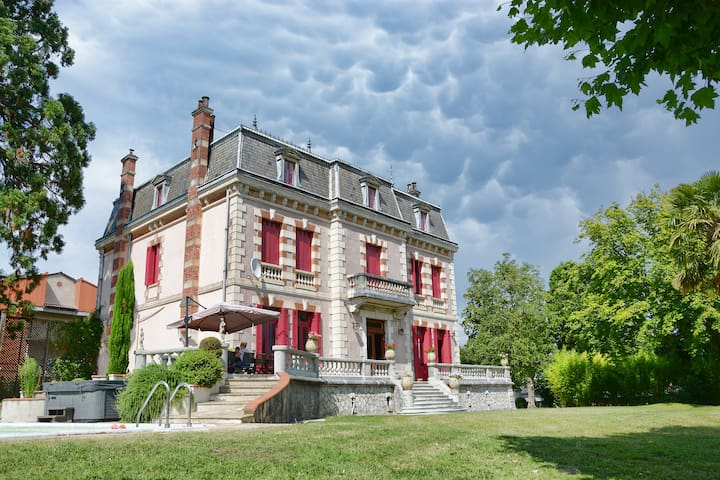 Chateau ideal for Family Holidays/Reunions, Etc. - Montréjeau - Slott