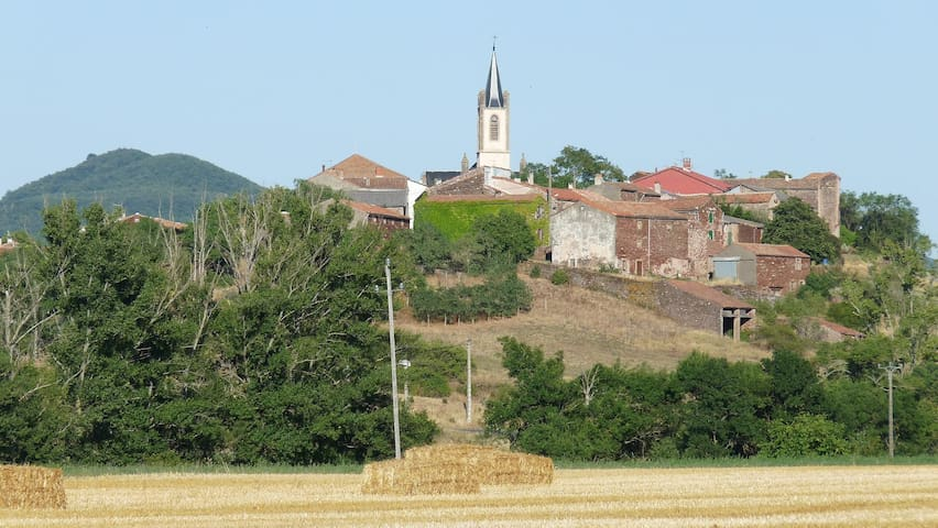 Gîte de vacances à la campagne Sud Aveyron - Montlaur - Apartemen