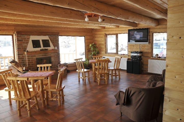 Carpathian Log house in Transylvani - Sadu - Hytte (i sveitsisk stil)