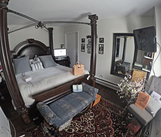 Charming bedroom - Chappaqua - Квартира