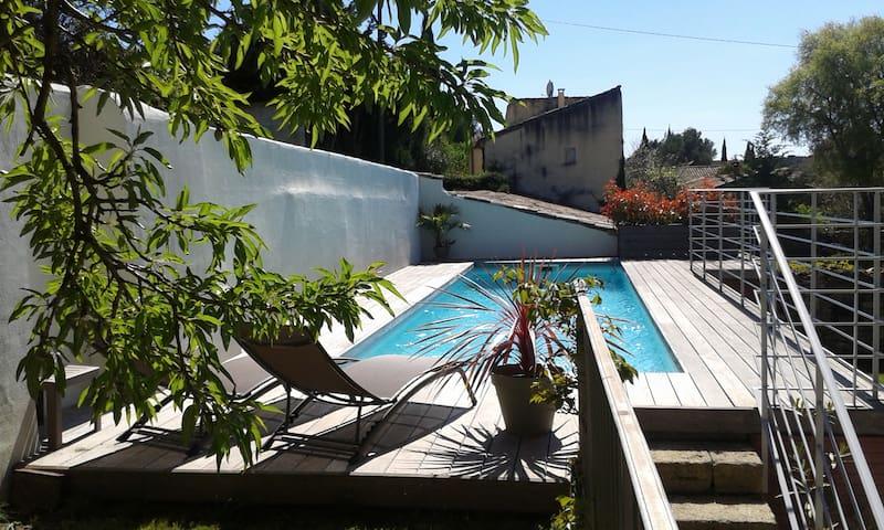 Beau studio proche Uzès - Saint-Bonnet-du-Gard - Ev