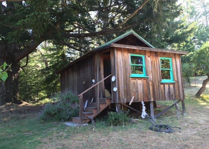Redwoods Cabin by the lake - Philo - Blockhütte