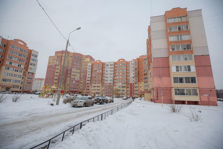 Уютная квартира на сутки Батова 14 - Yaroslavl' - Apartament