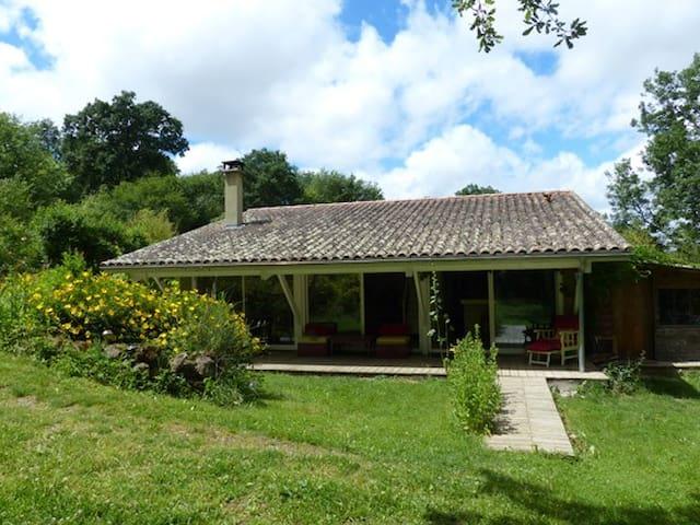 Petite maison calme style loft, 2 pas du festival - Marciac - Casa