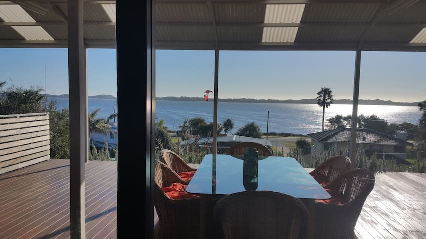 Deck View  Fabulous Estuary Views - Australind - Casa