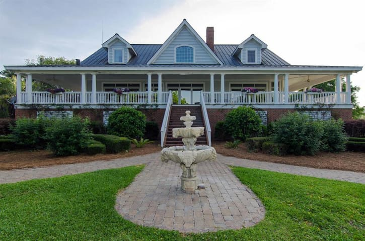 Private Plantation Home, Deep Water, Pool, Awesome - Edisto Island - Casa