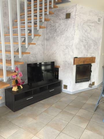 GITE POUR 8 PERSONNES - La Roche-Morey - Lägenhet